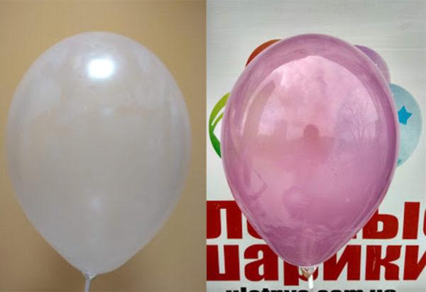 Уникальный шарик меняющий цвет от солнечных лучей