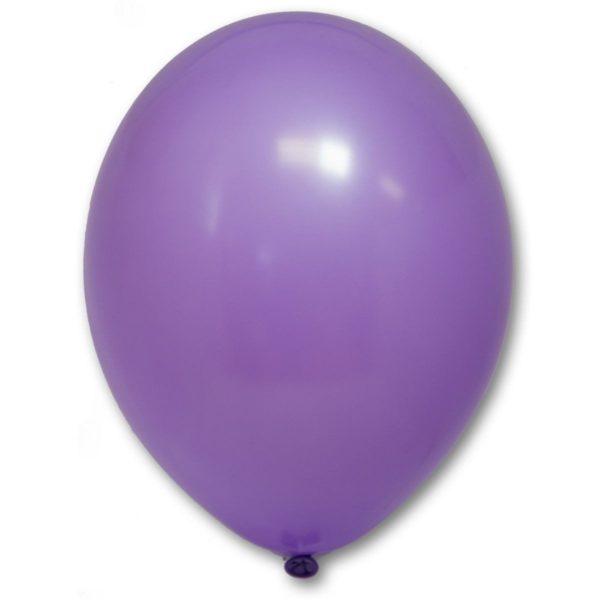 Латексный шарик стандартный лавандовый пастель.