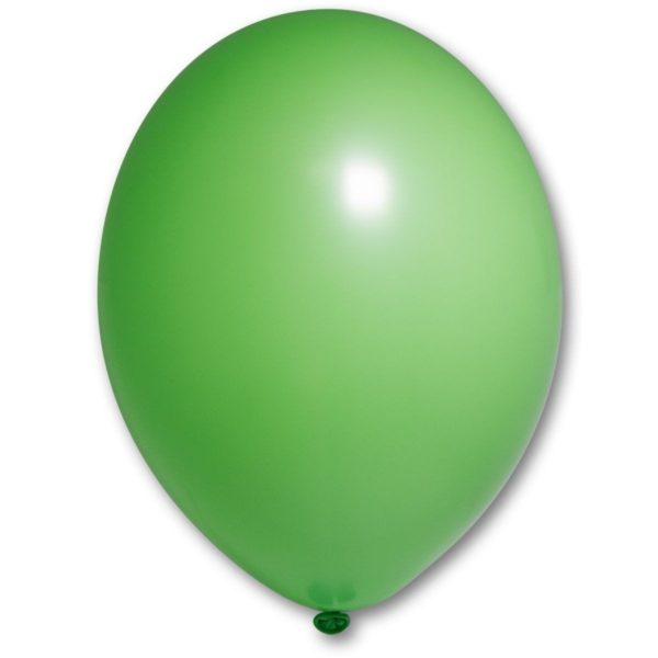 Латексный шарик стандартный лайм пастель.