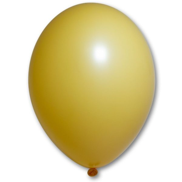 Латексный шарик стандартный светло Охра пастель.