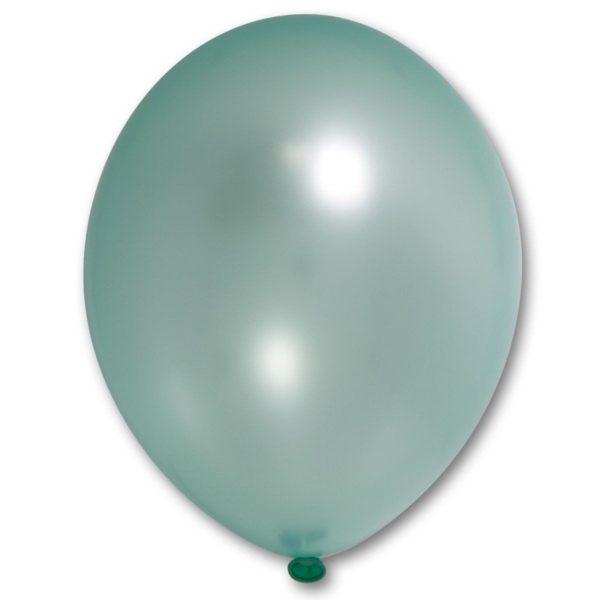 Латексный шарик стандартный металик светло-зеленый