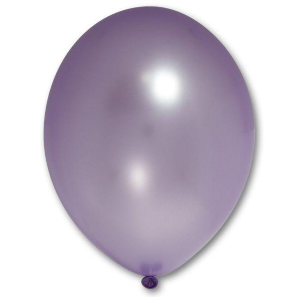 Латексный шарик стандартный металик лавандовый.