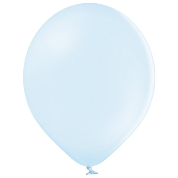 Латексный шарик стандартный светло голубой макарун.