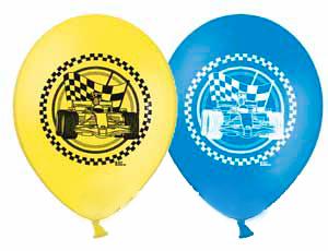 Латексный шарик Формула 1.
