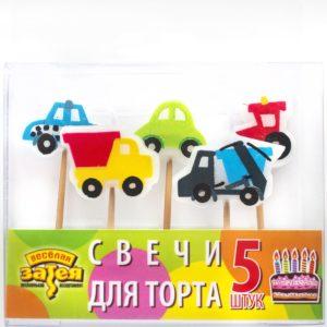Свечи д/торта на пиках Авто