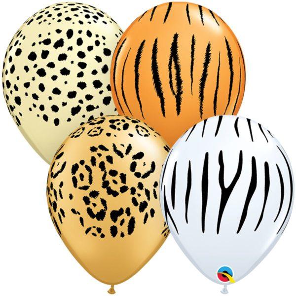 Латексный шарик сафари