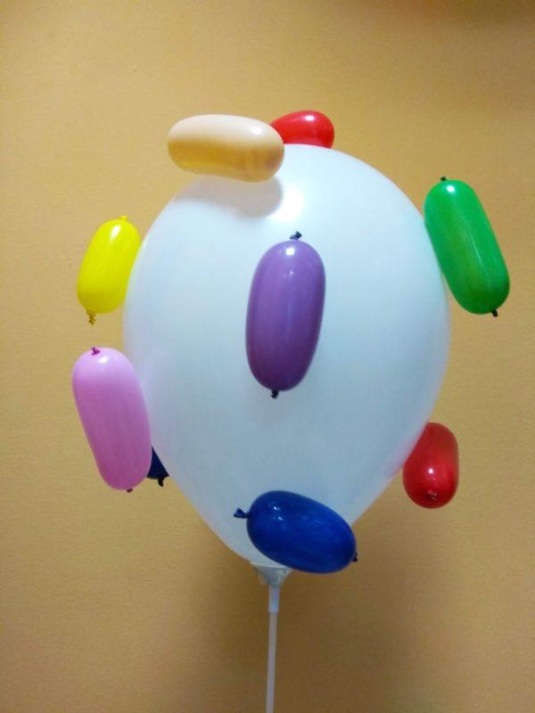 Латексный шарик мороженное