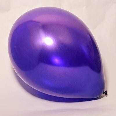 Латексный шарик побольше металик пурпурный.