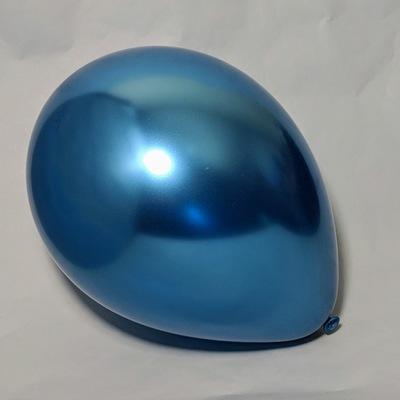 Латексный шарик побольше хром синий.