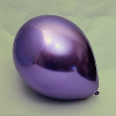 Латексный шарик побольше хром фиолетовый.