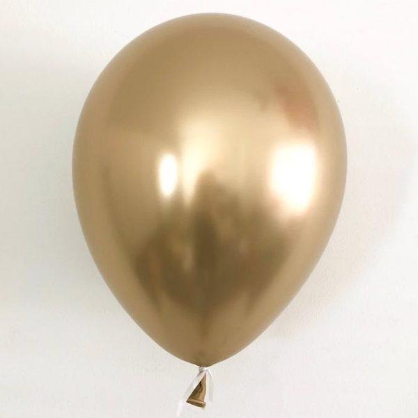 Шарик побольше хром золото