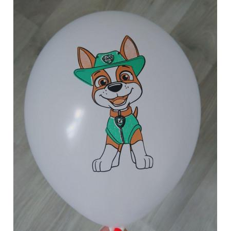 Шар с рисунком Трекер щенячий патруль