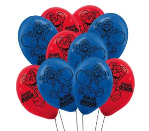 Латексный шар Марио