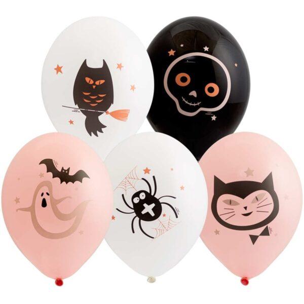 Воздушный шар на Хэллоуин.
