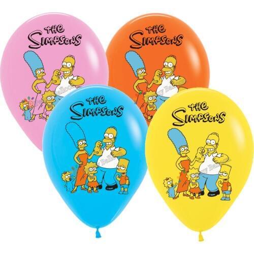 Воздушный шар Simpsons.