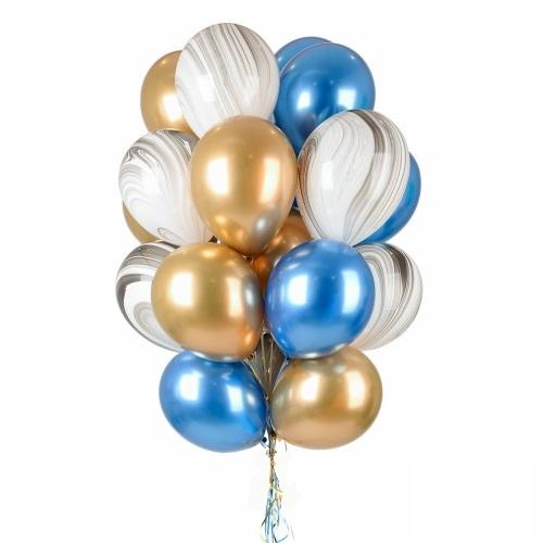 Букет (0.147) Состоит из 18 шариков.