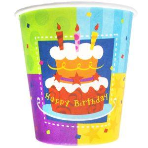 Стаканы Birthday