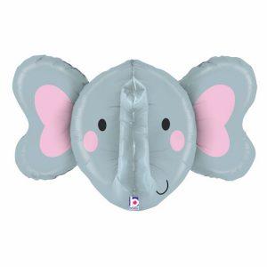 Слоненок фольгированный шар
