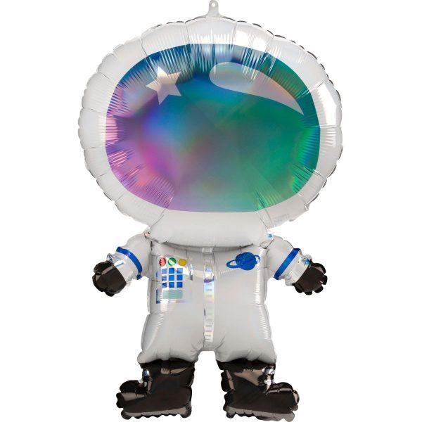 фольгированный шар в виде космонавта