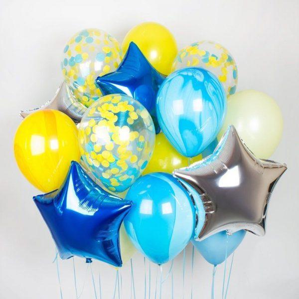 Букет (0.228) Состоит из 15 шариков.