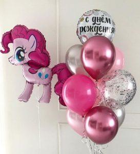 Букет из воздушных шаров с Понни