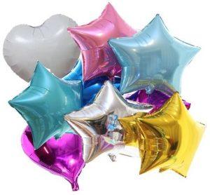 Повторное надувание фольгированных шариков