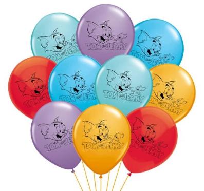 Латексный шар с рисунком Tom and Jerry