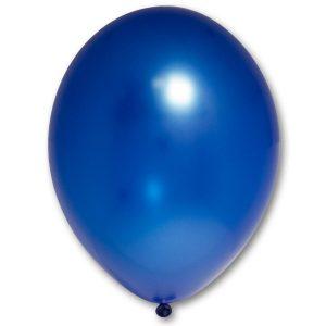 Латексный шарик побольше синий металик.