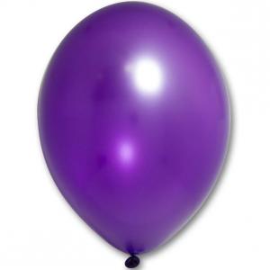 Латексный шарик побольше феолетовый металик.