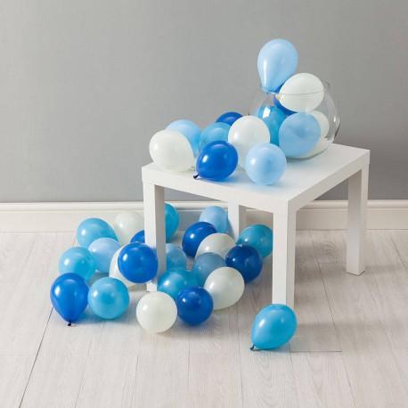 Воздушные шарики с воздухом (не летают) на пол 25 шт.