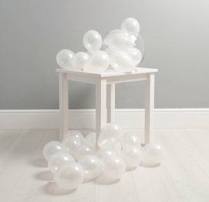 Набор воздушных шариков с воздухом (не летают) на пол