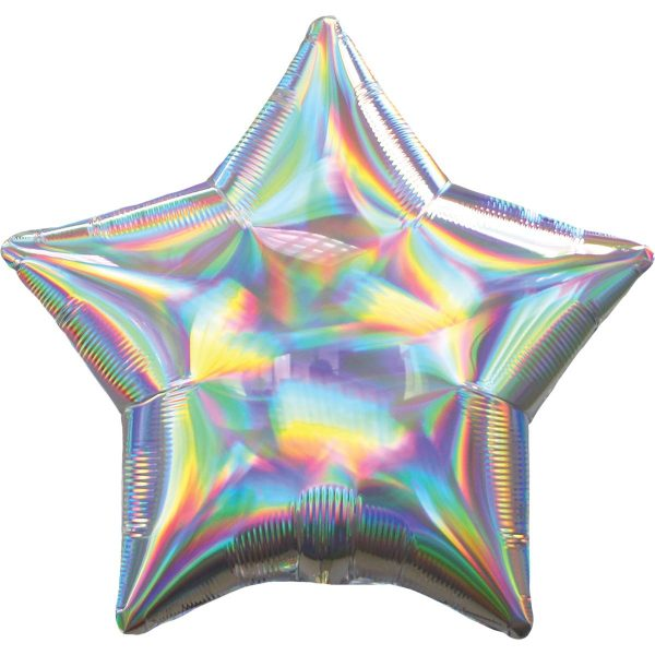 Фольгированная звезда голография