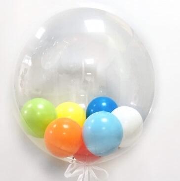 Баблс с шариками.