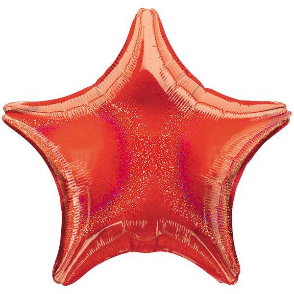 Звезда красная блеск