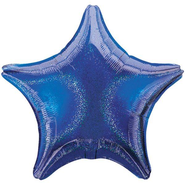 Звезда синяя блеск