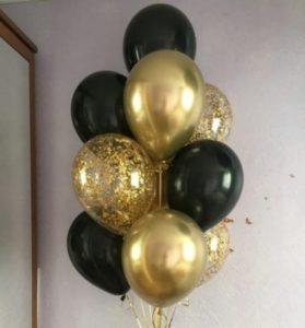 Букет (0.232) Букет из воздушных шаров состоит из 10 шариков.